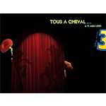 affichage teasing 'tous a cheval'